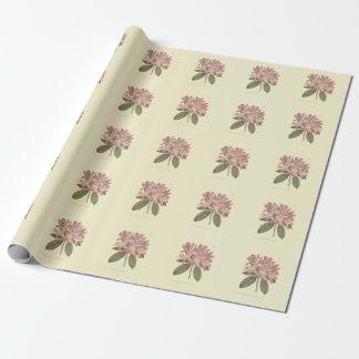 Purple Rhododendron Illustration