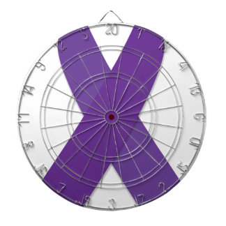 Purple Ribbon Dartboard