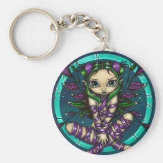 """Purple Ribbon Fairy"" Keychain"