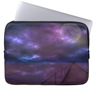 Purple Ripples, Stansbury, South Australia, Laptop Sleeve