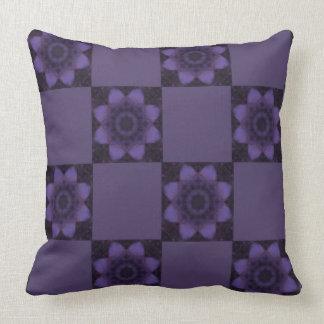 Purple River Reflection Pillow