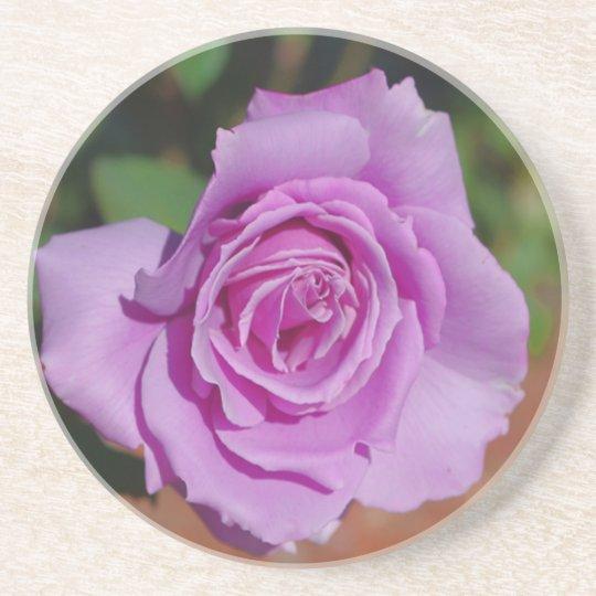 Purple Rose Coaster