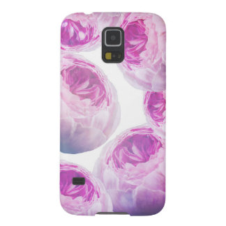 Purple Rose Collage, Floral Botanics Galaxy S5 Covers