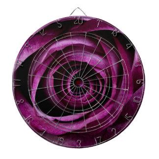 Purple Rose Dartboard