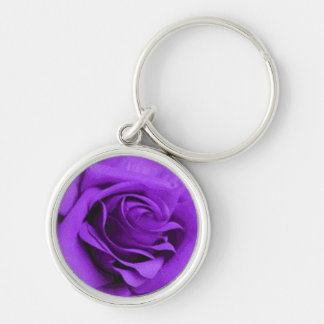Purple Rose keychain