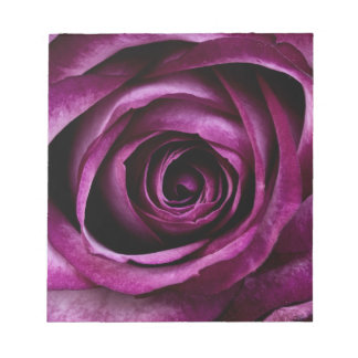 Purple Rose Notepad