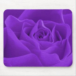 Purple Rose Petals Mouse Pad