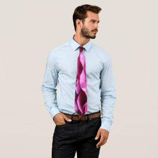 Purple Rose Tie