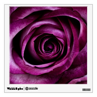 Purple Rose Wall Sticker