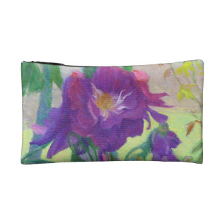 Purple Roses in the Shade Cosmetic Bags