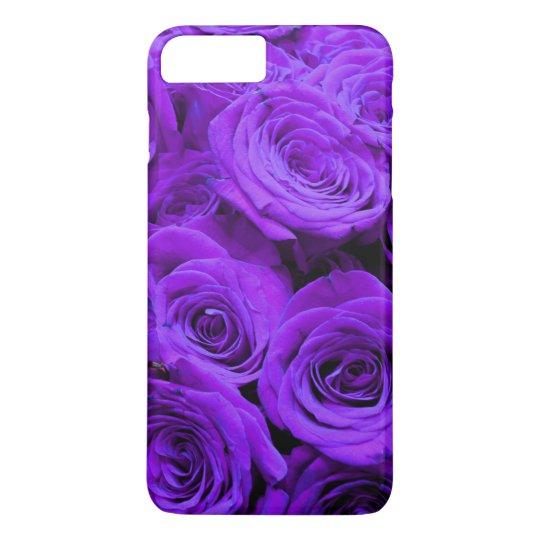 Purple  roses iPhone 7 plus case