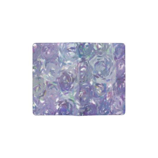 Purple Roses Pocket Moleskine Notebook