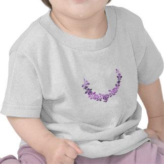 Purple roses swag shirts