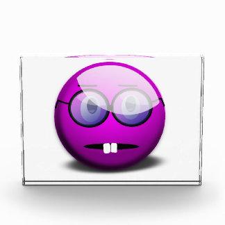 Purple Round Nerd Glasses