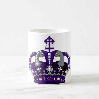 Purple Royal Crown Coffee Mug