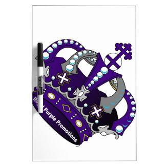Purple Royal Crown Dry-Erase Boards
