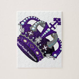 Purple Royal Crown Puzzles