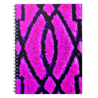 Purple Rug Spiral Notebook
