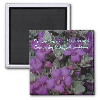 Purple Sage Motivational Fridge Magnet