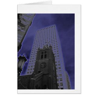 Purple San Francisco Card