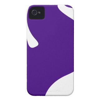 Purple Seahorse iPhone 4 Cover