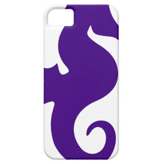 Purple Seahorse iPhone 5 Cover