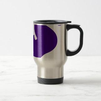 Purple Seahorse Travel Mug
