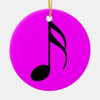 Purple semi quaver Ornament