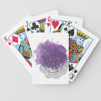 Purple sends it bicycle playing cards