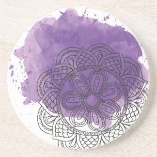 Purple sends it coaster