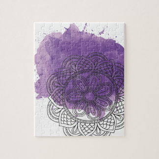 Purple sends it jigsaw puzzle