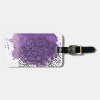 Purple sends it luggage tag