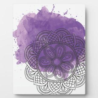 Purple sends it plaque