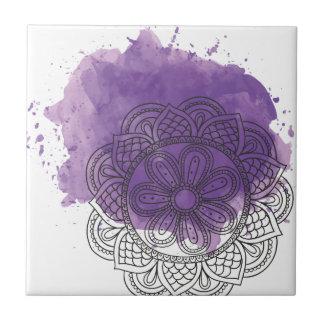 Purple sends it tile