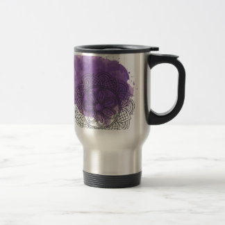 Purple sends it travel mug