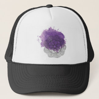 Purple sends it trucker hat
