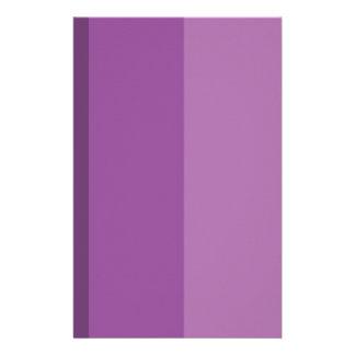 Purple Shades simple & sleek Customized Stationery