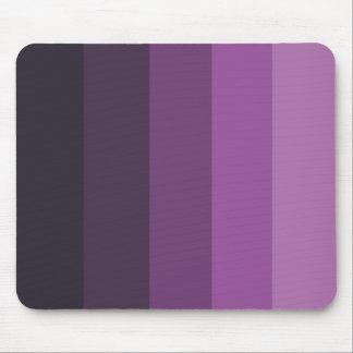 Purple Shades simple & sleek Mouse Pad
