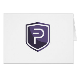 Purple Shield PIVX Card