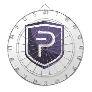 Purple Shield PIVX Dartboard With Darts