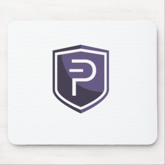 Purple Shield PIVX Mouse Pad