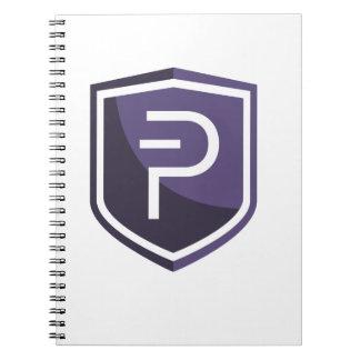 Purple Shield PIVX Notebooks