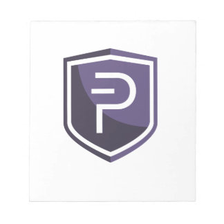 Purple Shield PIVX Notepad