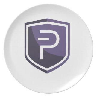 Purple Shield PIVX Plate