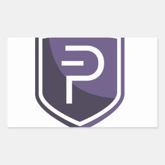 Purple Shield PIVX Sticker
