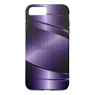 Purple Shiny Metallic Design iPhone 8 Plus/7 Plus Case