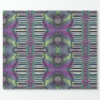 Purple Show stopper Wrapping Paper