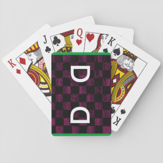 purple shuffles cube poker deck
