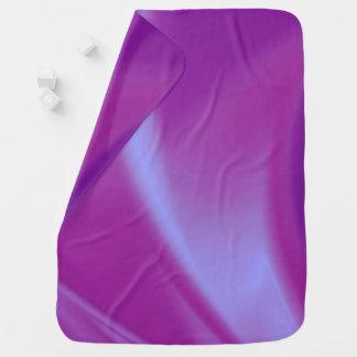 Purple Silks Baby Blanket