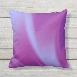 Purple Silks Outdoor Pillow
